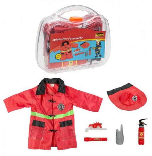 """Spielkoffer """"Feuerwehr"""", 6-teilig"""
