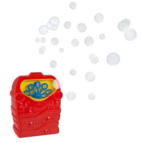 Seifenblasen-Maschine, inkl. 118 ml Seifenblasenlösung, batteriebetrieben