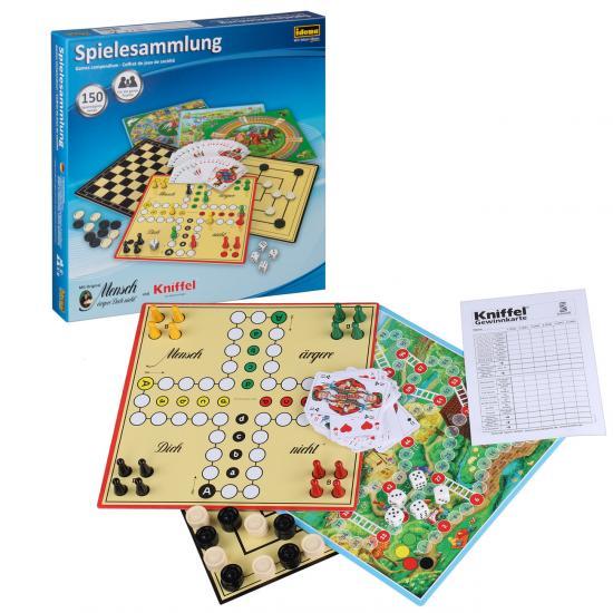 Spielesammlung, 150 Spielmöglichkeiten, inkl. Anleitung