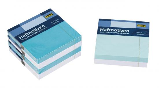 Idena markenshop haftnotizen 600 blatt 75 x 75 mm for Servietten eisblau