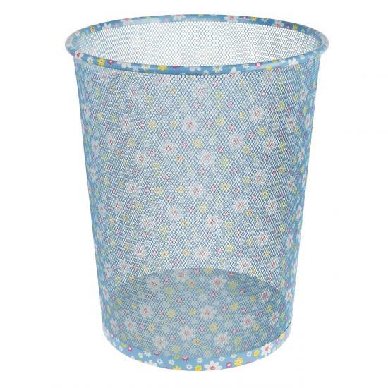 Papierkorb Flower, aus Metall, für ca. 17,7 Liter