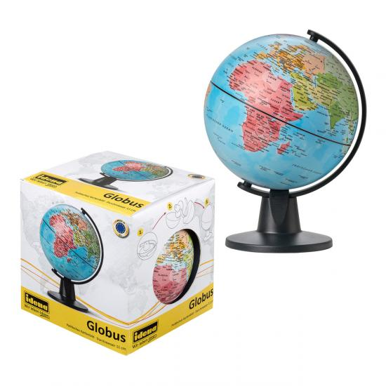 Globus, Durchmesser 11 cm, politisches Kartenbild
