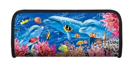 Faulenzer 3D-Optik, Motiv Unterwasserwelt, 21 x 9 x 4,6 cm