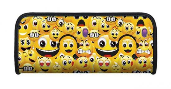 Faulenzer 3D-Optik, Motiv Smiley, 21 x 9 x 4,6 cm