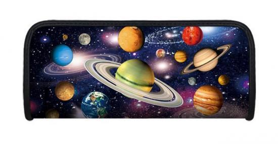 Faulenzer 3D-Optik, Motiv Weltraum, 21 x 9 x 4,6 cm