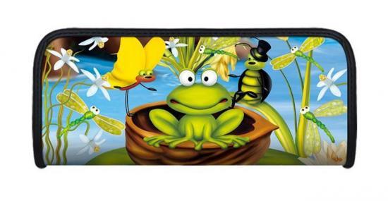 Faulenzer 3D-Optik, Motiv Frosch, 21 x 9 x 4,6 cm