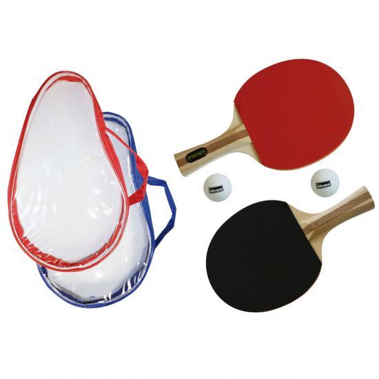 """Tischtennis-Set """"Turnier"""", 2 Schläger, inkl. 2 Bälle und Tasche"""