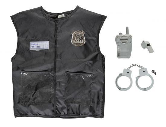 "Kinderkostüm-Set ""Polizei"", 4-teilig"