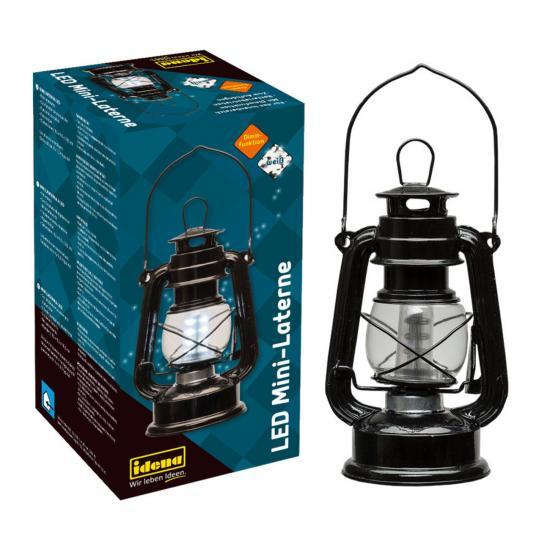 LED Mini-Laterne, für innen, batteriebetrieben, mit Dimm-Funktion