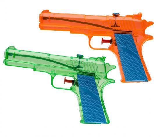 Wasserpistolen, 18 cm, 2 Stück