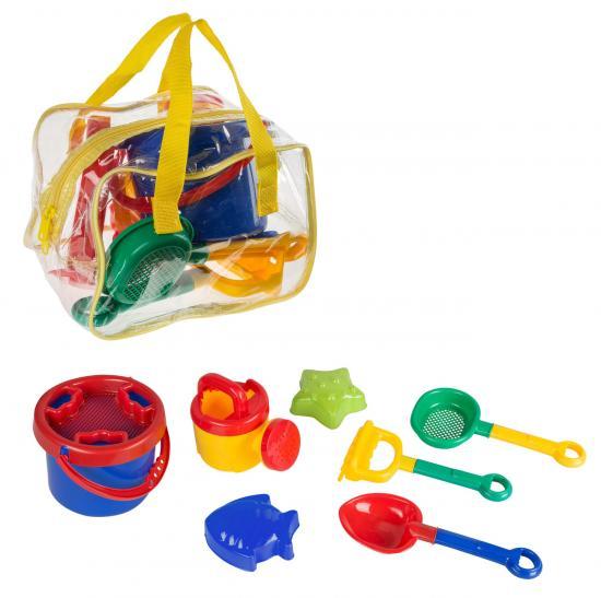 Sandspielzeug-Set,  25 cm, 8 Teile in Tasche
