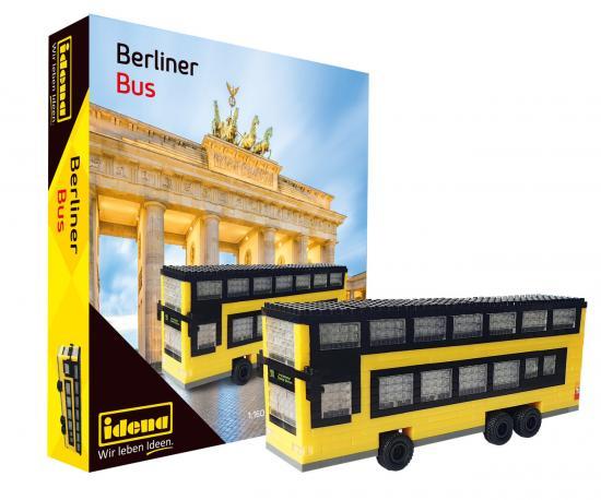 Minibausteine Berliner Doppeldecker Bus
