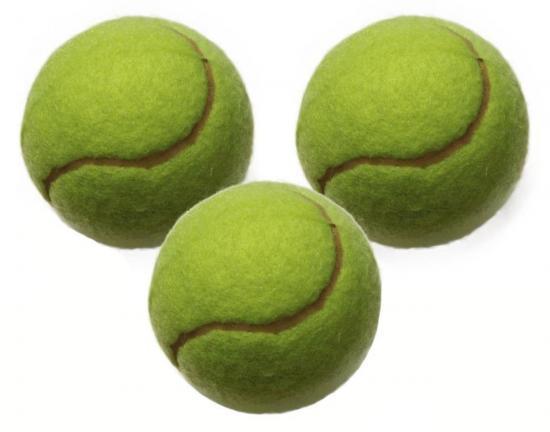 Tennisbälle, 3er-Set, Klasse A