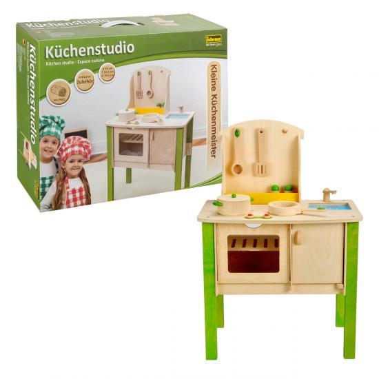 """Kleine Küchenmeister """"Küchenstudio"""", 8-teilig, aus Holz"""
