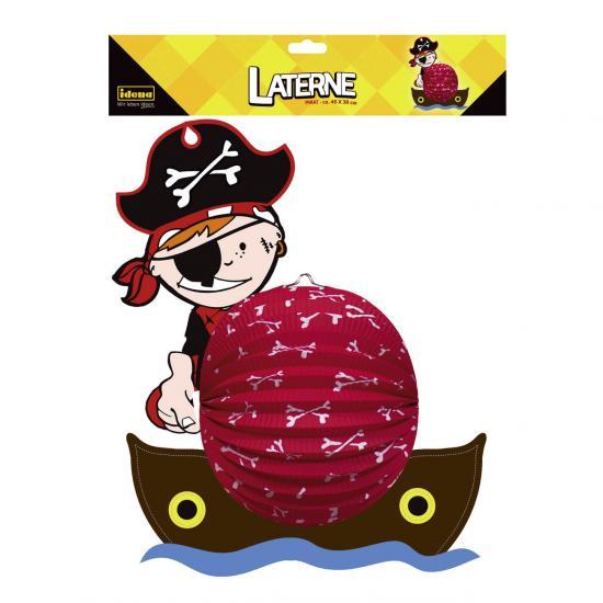 "Laterne ""Pirat"", ca. 45 x 38 cm"