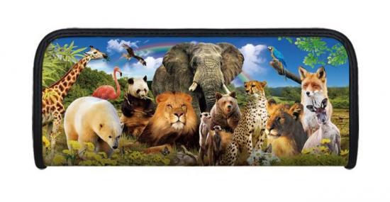 Faulenzer 3D-Optik, Motiv Tierwelt, 21 x 9 x 4,6 cm