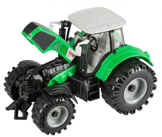 Traktor mit beweglicher Vorderachse und Schwungradantrieb, 20 cm