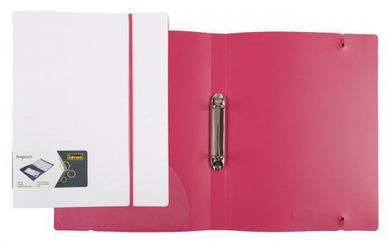 Ringbuch, DIN A4, 2-Ringmechanik, Gummizug
