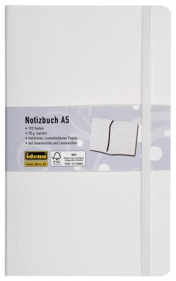 Notizbuch Flexi, DIN A5, 192 Seiten, 70 g, kariert