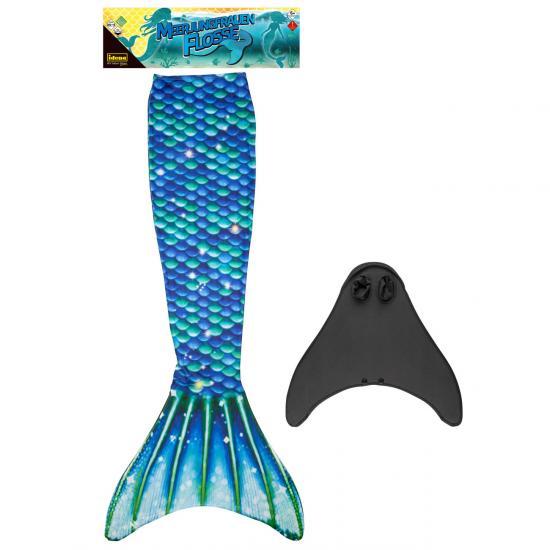 Meerjungfrauenflosse, inkl. Monoflosse, Größe M/L