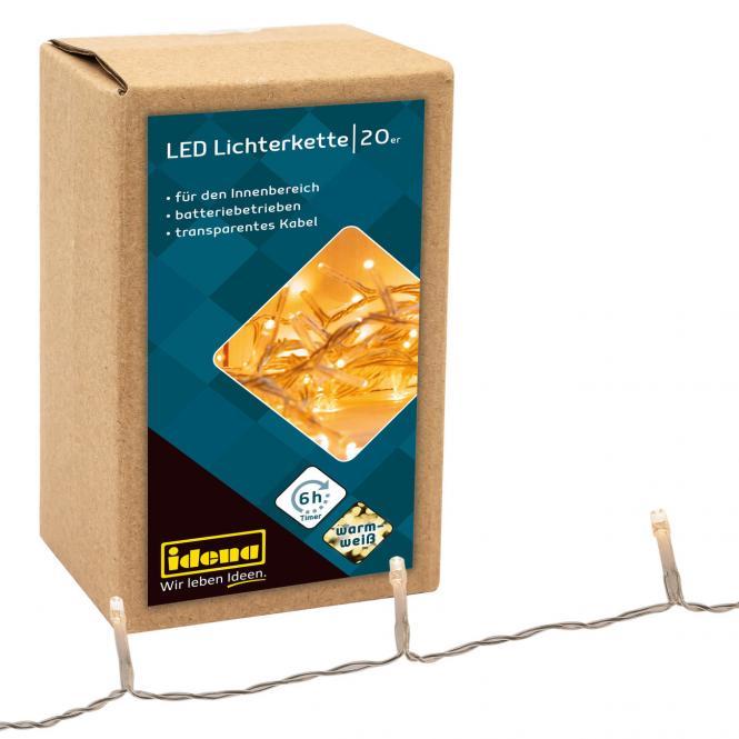 Led Weihnachtsbeleuchtung Günstig.20er Led Lichterkette Für Batterie Günstig Kaufen Idena