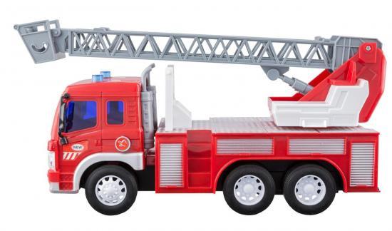 Idena Markenshop Feuerwehrauto Leiterwagen Mit Licht Und