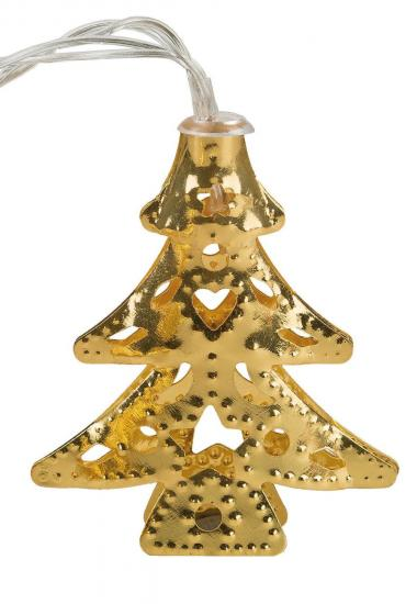 idena markenshop 10er led lichterkette weihnachtsb ume warmwei batterieb gold online. Black Bedroom Furniture Sets. Home Design Ideas