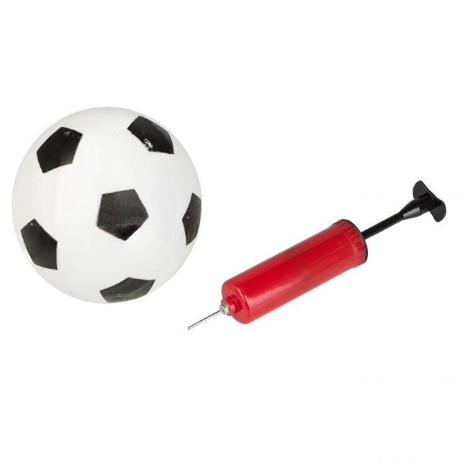 Mini Fussball Set Mit 2 Toren Ball Gunstig Kaufen Idena