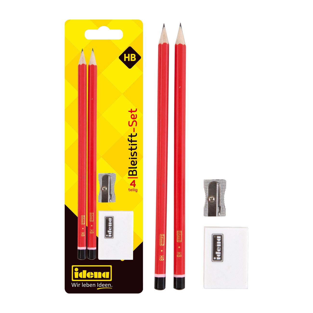 50 Bleistifte mit Radiergummi Härtegrad HB Stift Bleistift Radierer