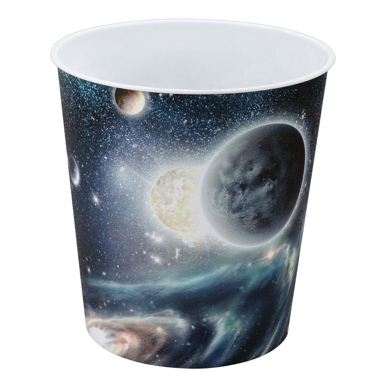 Papierkorb Weltraum-Motiv für 9 Liter | günstig kaufen | Idena