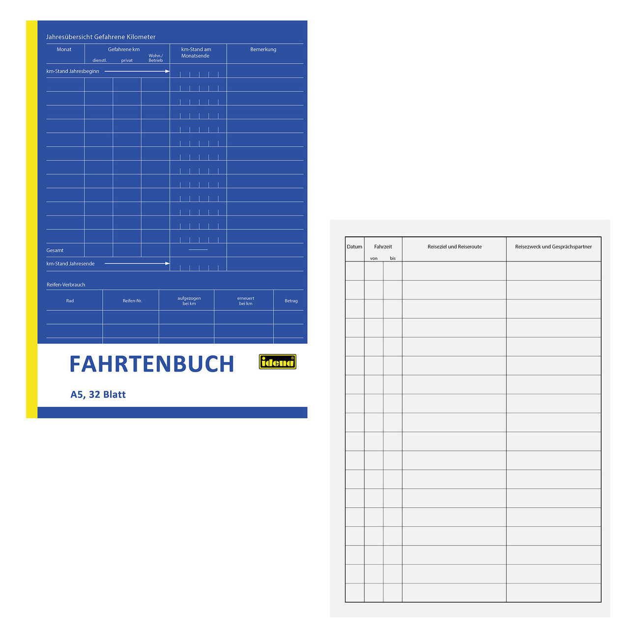Fahrtenbuch und Kostenerfassung Fahrten