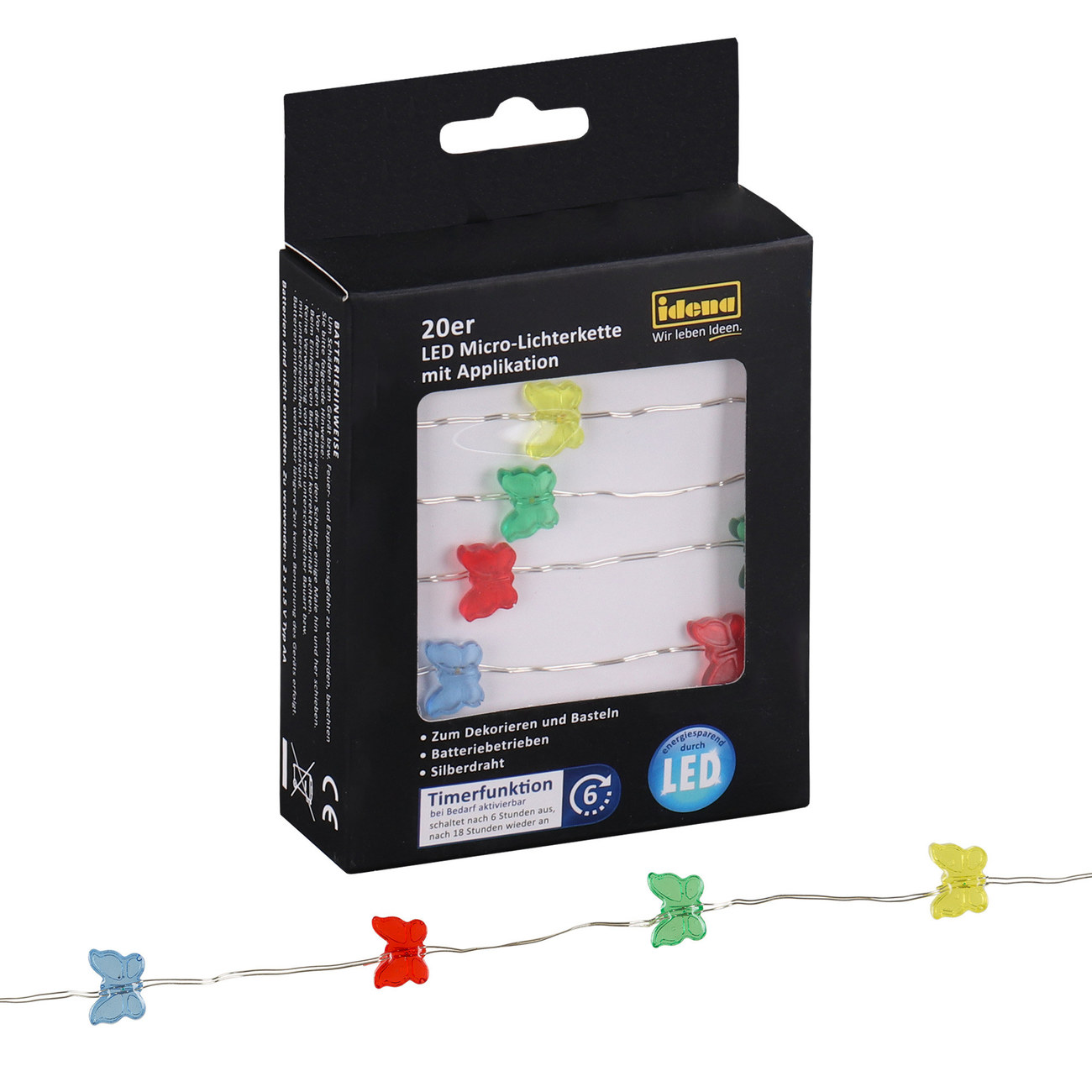 Idena Markenshop | 20er LED Micro-Lichterkette \
