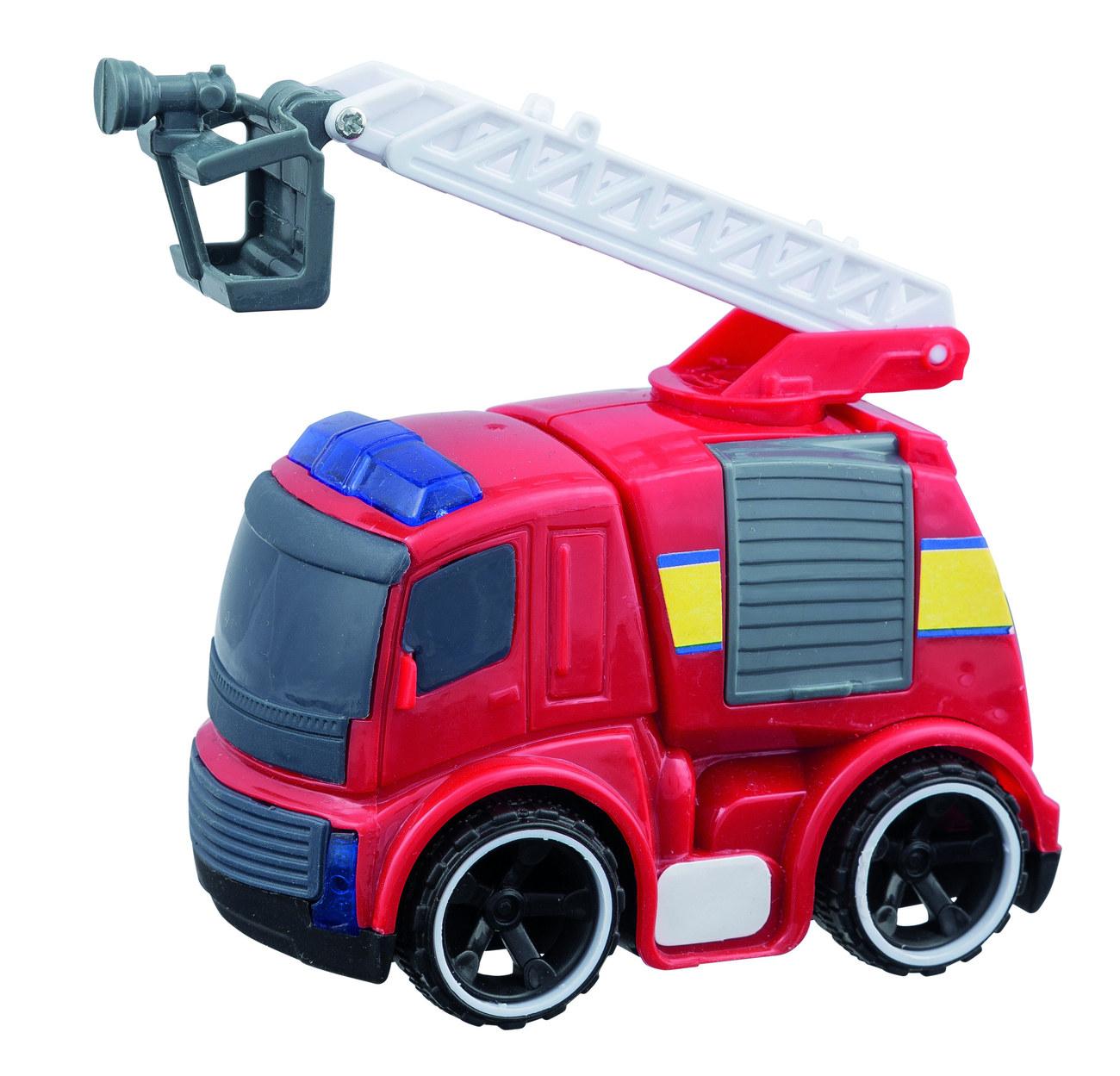 Idena Markenshop Feuerwehrauto Mit Licht Und Soundeffekten