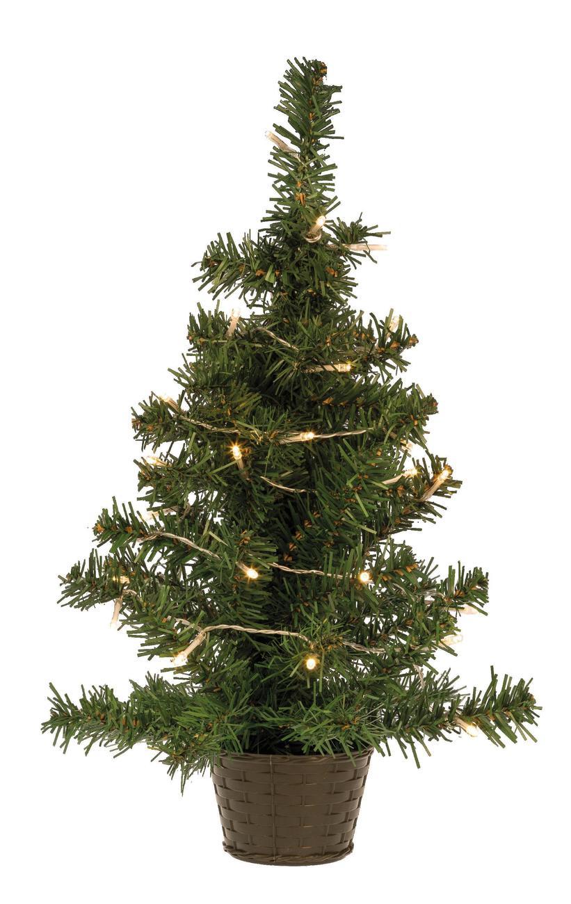 Idena Markenshop | 35er LED Tannenbaum, 55 cm, warmweiß, für Innen ...