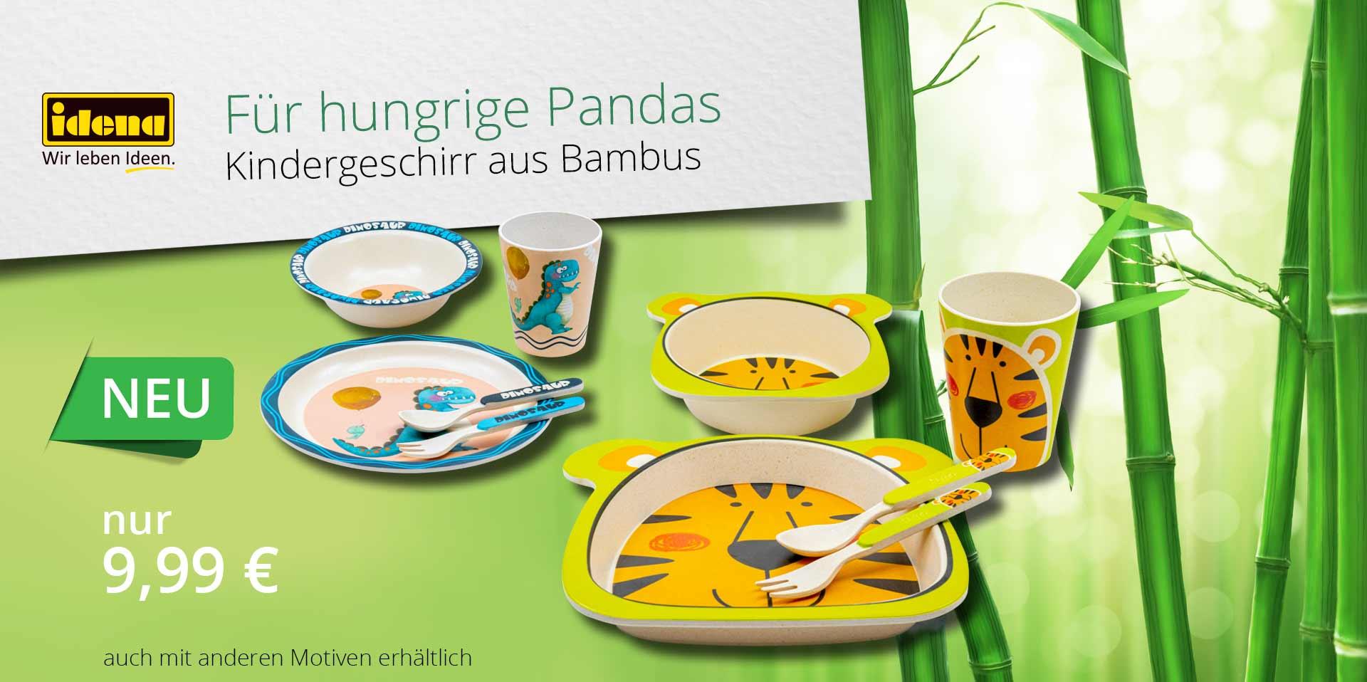 Banner Bambusgeschirr