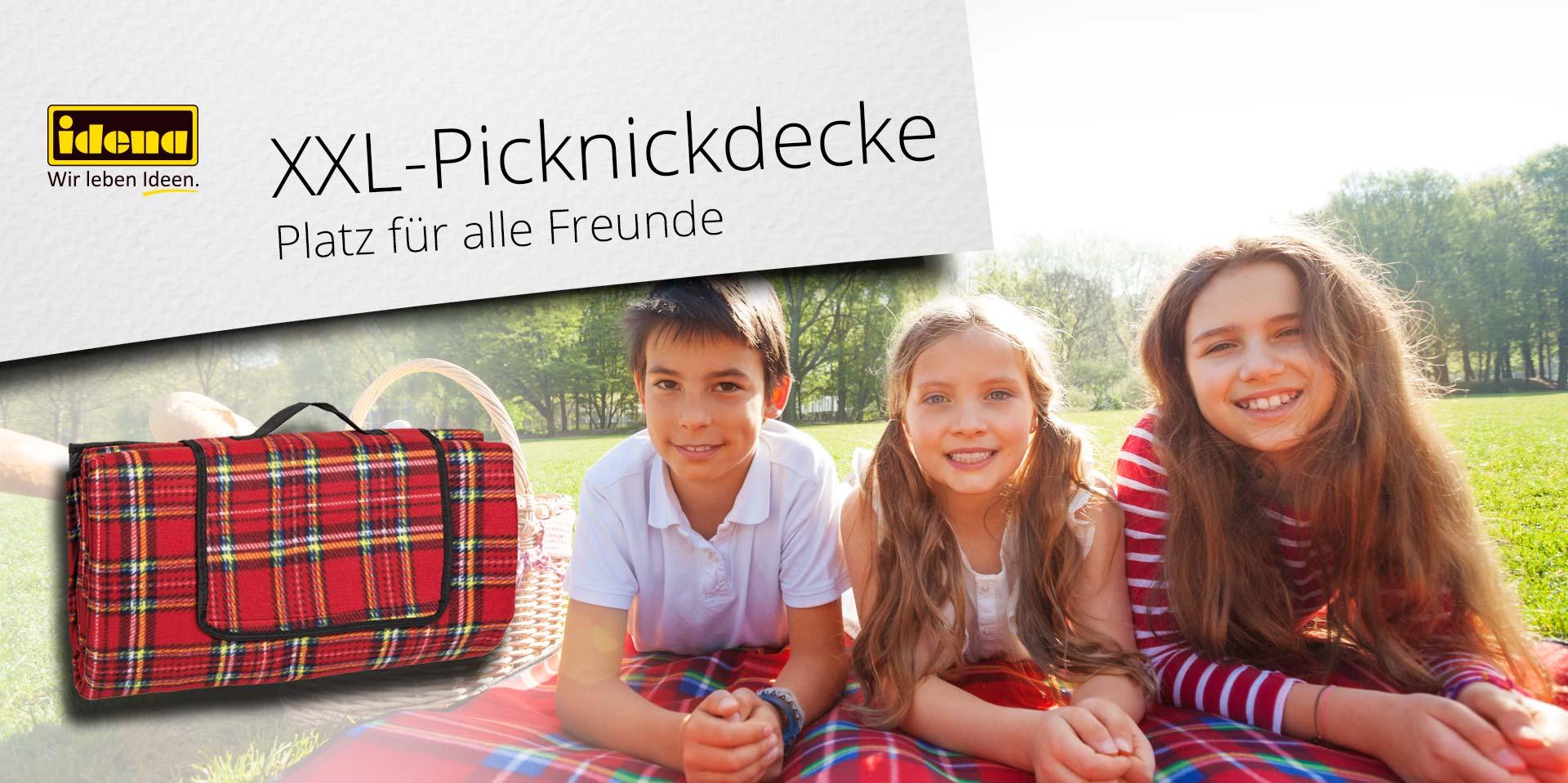 Banner XXL Picknickdecke