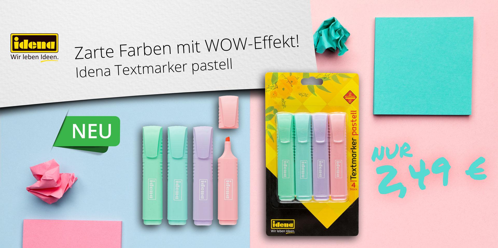 Banner Pastell-Marker