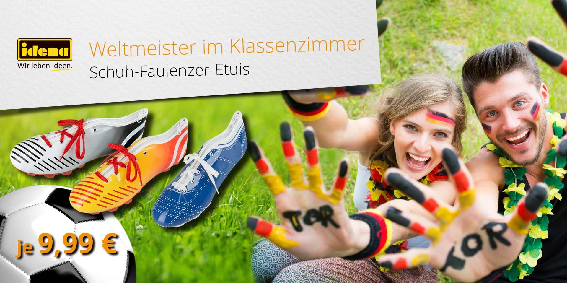 Banner Schuh-Faulenzer
