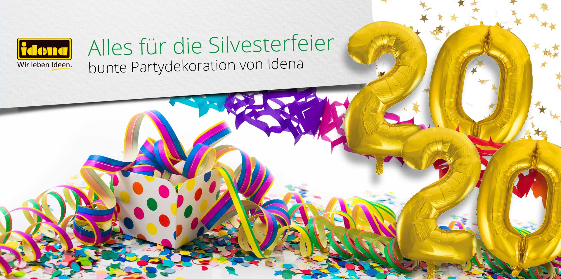 Banner Silversterparty