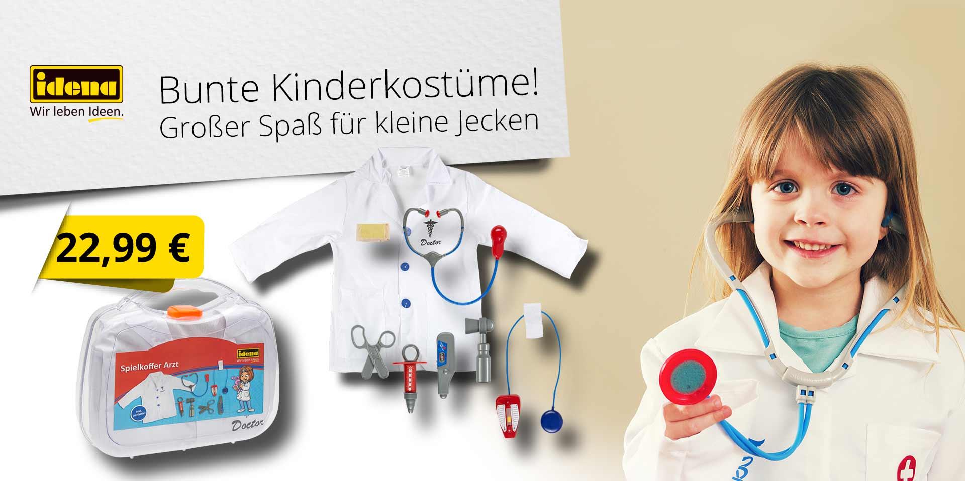 Banner Spielkoffer Arzt